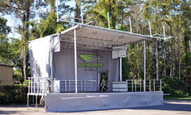 Mobile Trailer Stage