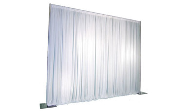 Pipe & Drape Backdrop (White)